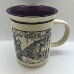 St Scene history mug purple