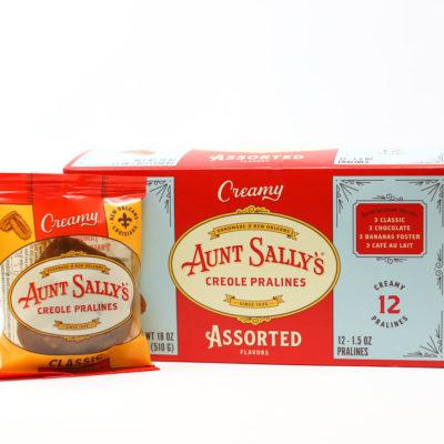 Aunt sally's creamy pralines