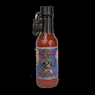 Fume-a-gator hot sauce