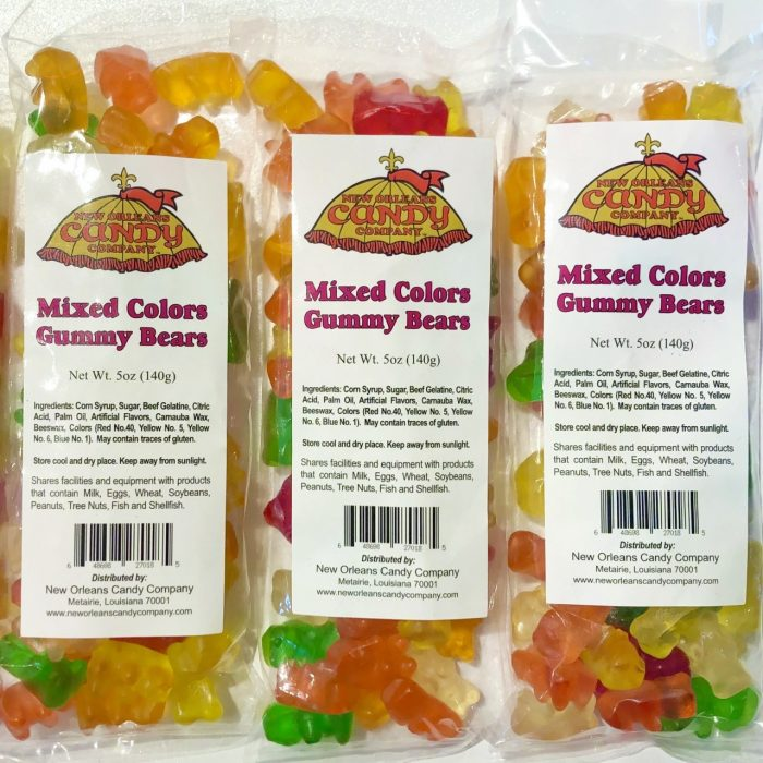New Orleans Candy Assorted Gummy Bears